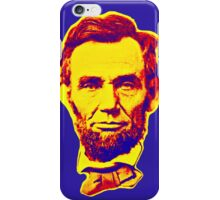 Bright Face Abraham Lincoln  iPhone Case/Skin