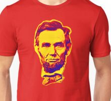 Bright Face Abraham Lincoln  Unisex T-Shirt