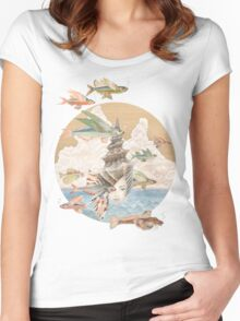 Sea Dream Women's Fitted Scoop T-Shirt