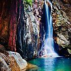 El Questro Gorge Waterfall by Jan Fijolek