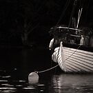 Buoy and Boat. by Mbland