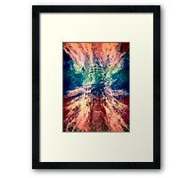 Dalek Nebula Framed Print