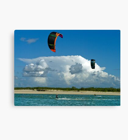 Catching The Wind  Canvas Print