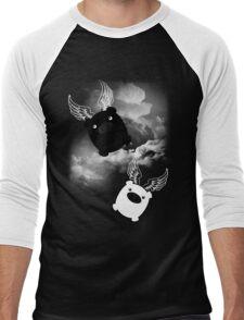 TWIN PIGS FLYING Men's Baseball ¾ T-Shirt