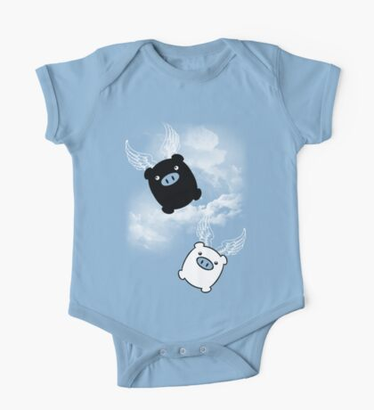 TWIN PIGS FLYING One Piece - Short Sleeve