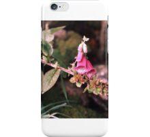 Pink Foxglove iPhone Case/Skin