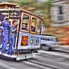 Streetcar - San Francisco by Cathy Grieve