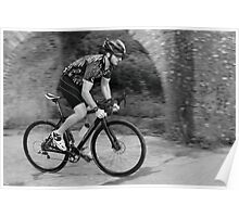 Road Cyclist Poster