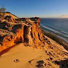 Carlo Sandblow at sunrise. Rainbow Beach, Queensland, Australia by Ralph de Zilva