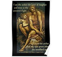 I Am The Archer - Artemis and Hyperion Poster