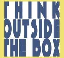 Think Outside the Box Kids Tee