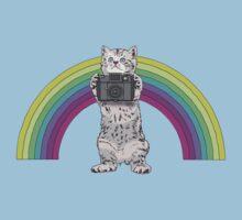 LOMO KITTY!  Kids Tee