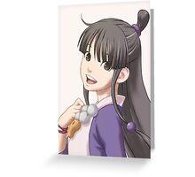 Maya Fey Greeting Card