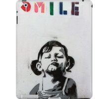kid smile iPad Case/Skin