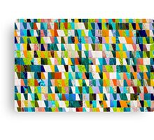 Colourful ceramic tiles Canvas Print