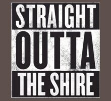 Straight Outta The Shire One Piece - Short Sleeve