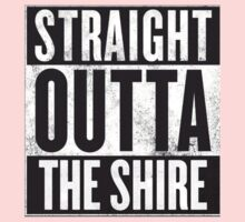 Straight Outta The Shire Kids Tee