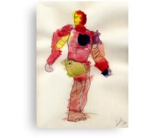 Metal Man Canvas Print