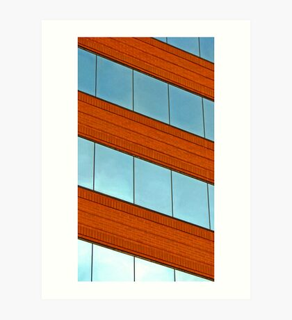 Office building - Hampton, Virginia Art Print