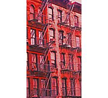 Fire Escapes - New York City Photographic Print