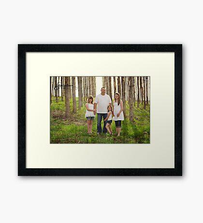 Daddies Girls Framed Print