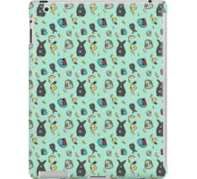 Birds and Bunny Phone Tablet and Laptop cases and skins iPad Case/Skin