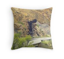 An arch to more of natures joy! Throw Pillow