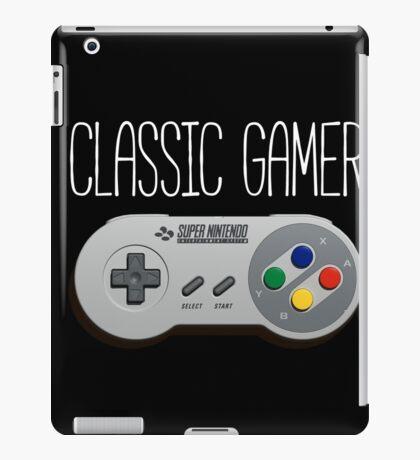 Classic gamer (snes controller) iPad Case/Skin