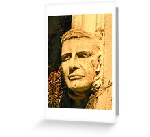 The face of education - Lehigh University Greeting Card