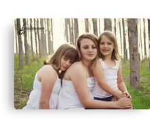 My three princesses Canvas Print