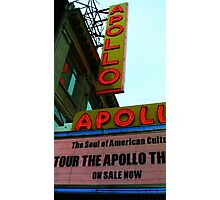 Apollo Theater - New York City Photographic Print