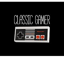 Classic gamer (nes controller) Photographic Print
