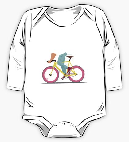 fixie bicycle One Piece - Long Sleeve