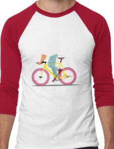 fixie bicycle Men's Baseball ¾ T-Shirt