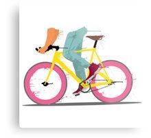 fixie bicycle Metal Print