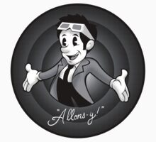 Allons-y! Stickers by zerobriant