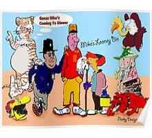 Mike's Looney Bin Poster