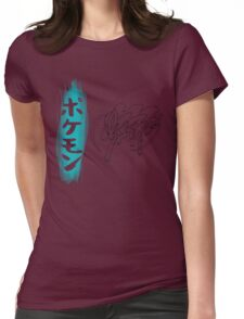 Suicune Womens Fitted T-Shirt