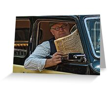 Taxi #2 Greeting Card