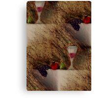 Plaisirs Fruits Canvas Print