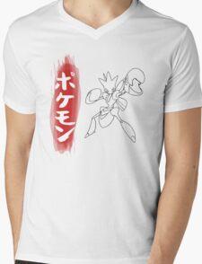 Scizor Mens V-Neck T-Shirt