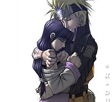 Naruto and hinata by Carl Black
