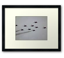 As nine go by Framed Print