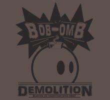 Bob-Omb Demolition Kids Clothes