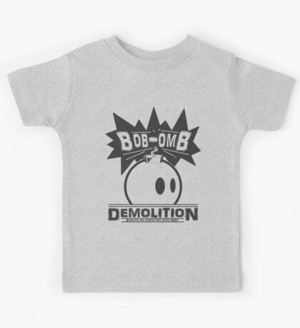 Bob-Omb Demolition Kids Tee