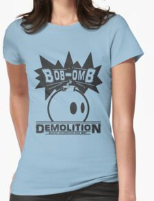 Bob-Omb Demolition Womens Fitted T-Shirt