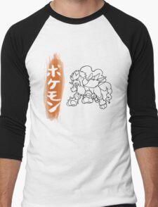 Entei Men's Baseball ¾ T-Shirt