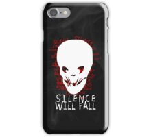 Silence Will Fall iPhone Case/Skin