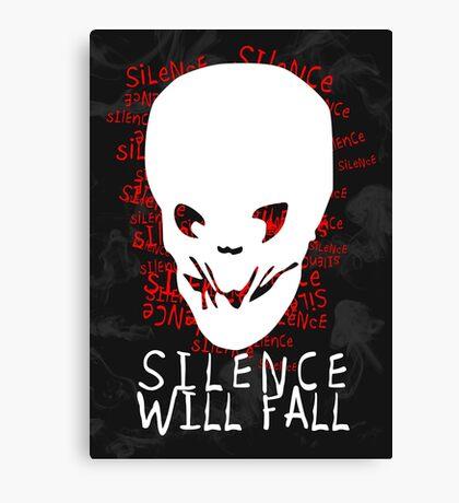 Silence Will Fall Canvas Print