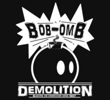 Bob-Omb Demolition White T-Shirt